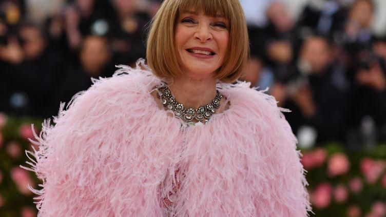 Figure incontournable de la mode, Anna Wintour a annoncé le report de l'édition 2020 du gala du Met. (ANGELA WEISS / AFP)