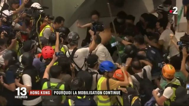 Hong Kong : la protestation continue