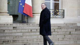 François Bayrou à l'Elysée le 9 janvier 2015. (MAXPPP)