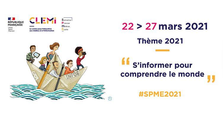 Semaine de la Presse et des Médias dans l'École (Clémi - SPME2021)