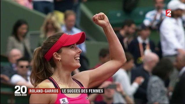 Rolland-Garros : le succès des Françaises