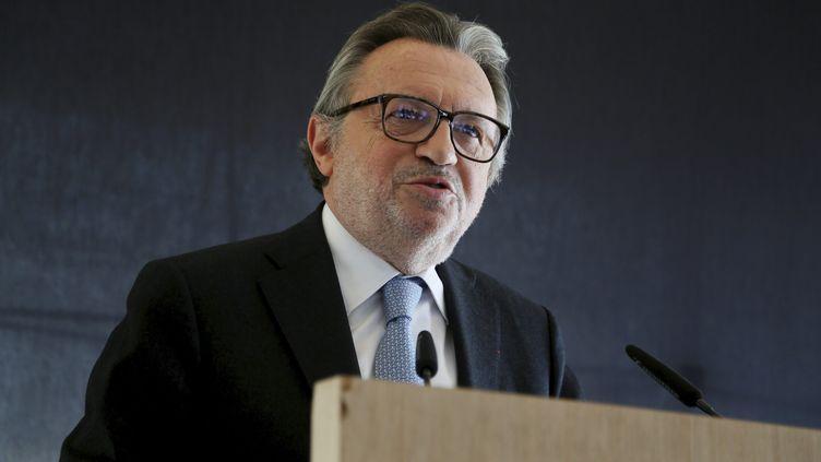 Le sénateur Jean-Noël Guérini, à Marseille (Bouches-du-Rhône), le 1er avril 2015. (MAXPPP)
