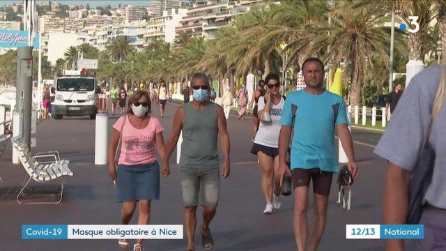 Covid-19 : le port du masque devient obligatoire à Nice