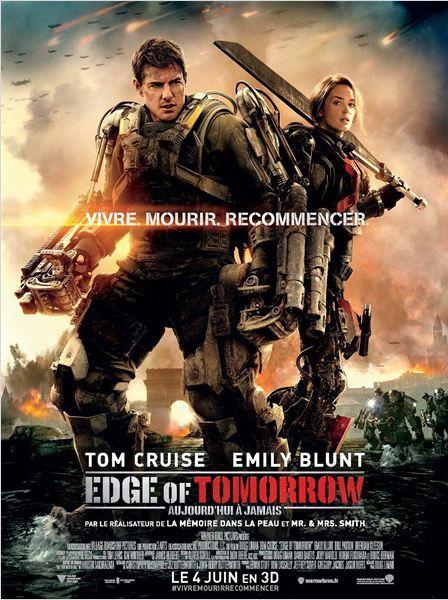 """L'affiche du film """"Edge of tomorrow""""  (Warner Bros France)"""