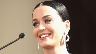 La chanteuse Katy Perry a annoncé sa présence à la Marche des Femmes anti-Trump de Washington du samedi 21 janvier 2017.  (Frazer Harrison / Getty Images / AFP)