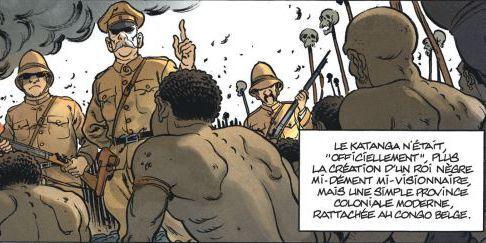 Fin du royaume du Katanga avec l'arrivée des Belges (Tome 1 de Katanga) (Dargaud)