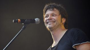 Bertrant Cantat aux Eurockéennes de Belfort en juin 2012  (Sébastien Bozon / AFP)