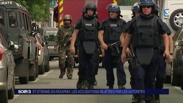 Saint-Étienne-du-Rouvray : les autorités rejettent les accusations de négligence