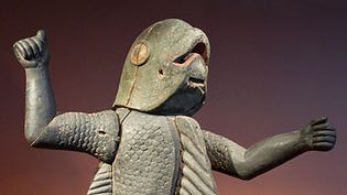 Statue royale anthropo-zoomorphe (Bénin) Musée du Quai Branlyb  (Sossa Dede / Wikimedia / Commons)