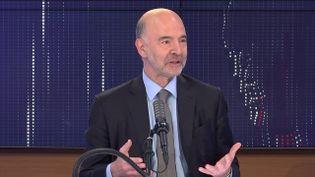 Pierre Moscovici,premier président de la Cour des comptes, invité de franceinfo le 16 juin 2021. (FRANCEINFO / RADIO FRANCE)