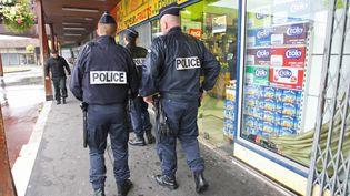 Des patrouilleurs de la police nationale à Amiens, le 9 août 2013. (FRED HASLIN / MAXPPP MAXPPP)