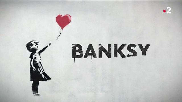 """Art contemporain : l'iconique """"Petite Fille au ballon"""" de Banksy"""