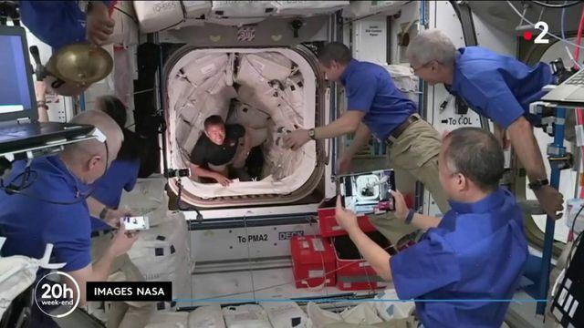 Mission Alpha : Thomas Pesquet retrouve ses coéquipiers de l'ISS, à 400 kilomètres de la Terre