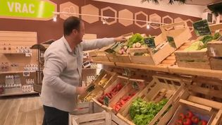 À Quimper (Finistère), un magasin ne vend que les produits de producteurs locaux. (France 2)