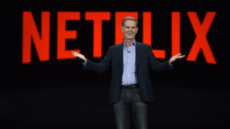 Le fondateur et PDG de Netflix Reed Hastings. (ROBYN BECK / AFP)