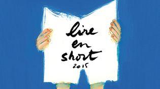 """L'affiche de """"Lire en short"""" 2015"""