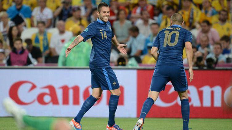 Jérémy Menez inscrit le 1er but tricolore face à l'Ukraine