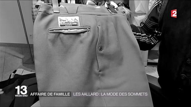 Megève : La famille Aallard confectionne la mode depuis les sommets