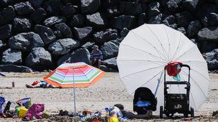 Une plage de de Saint Brieuc, en Bretagne. (CYRIL FRIONNET/MAXPPP / MAXPPP)