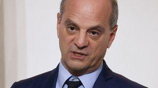 Le ministre de l'Education, Jean-Michel Blanquer, le 12 novembre 2020. (LUDOVIC MARIN / AFP)