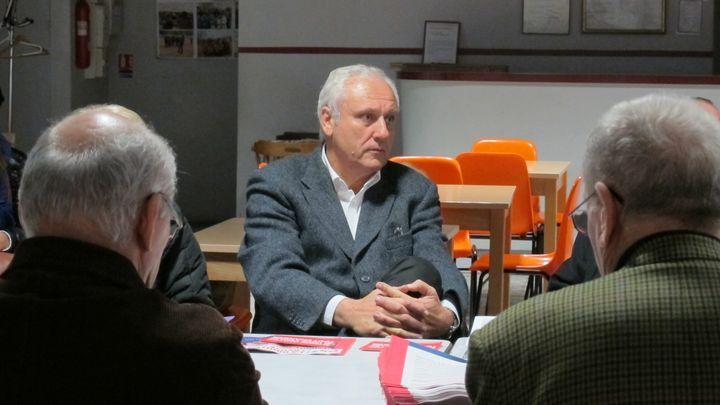 """Fernand Pietri, militant socialiste et """"à 90%"""" potentiel candidat dissident aux législatives dans la 6e circonscription de Marseille. (SALOME LEGRAND / FTVI)"""