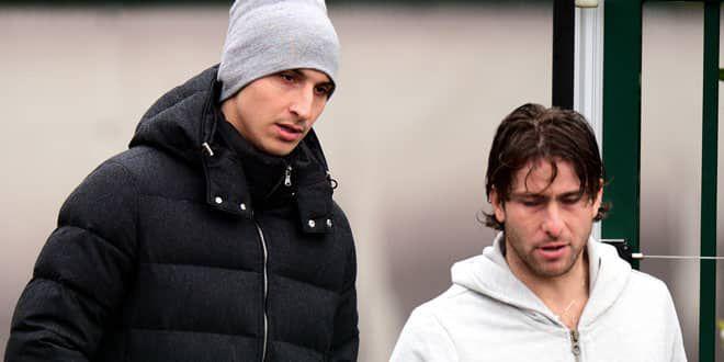Zlatan Ibrahimovic et Maxwell sont inséparables depuis leur arrivée en 2001 à l'Ajax Amsterdam