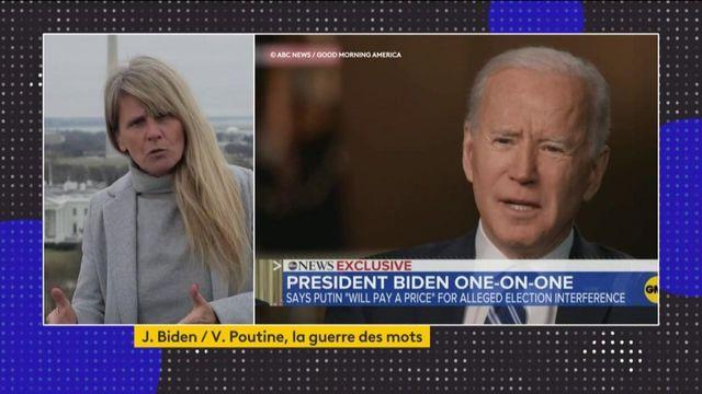 La déclaration choc de Joe Biden à l'encontre de Vladimir Poutine