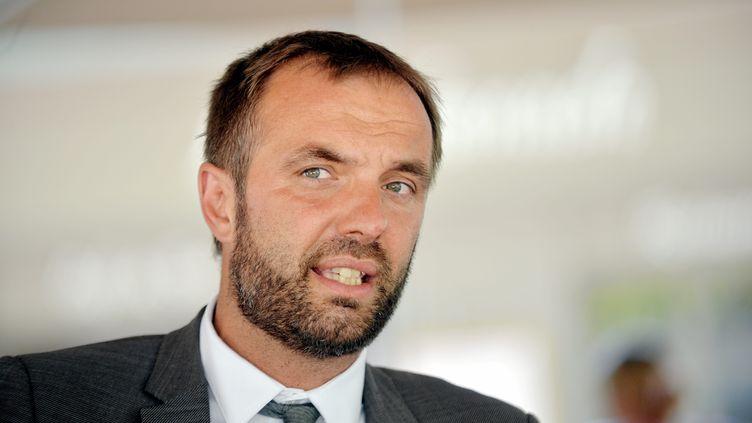 Michaël Delafosse, le maire PS de Montpellier, 1er juillet 2020. (MICHAEL ESDOURRUBAILH / MAXPPP)