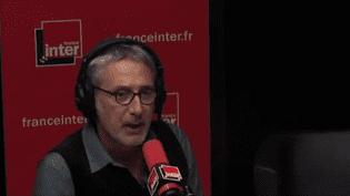 Antoine de Caunes, le11 octobre 2017. (France Inter)