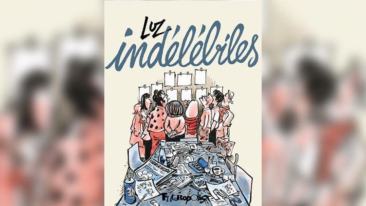 """""""Indélébiles"""" de Luz, lauréat du 25e Prix franceinfo de la bande dessinée d'actualité et de reportage. (EDITIONS FUTUROPOLIS)"""