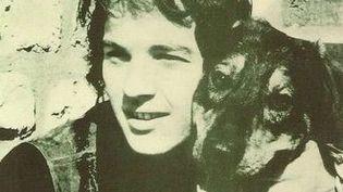 """Michel Corringe sur la pochette du disque """"La route"""""""