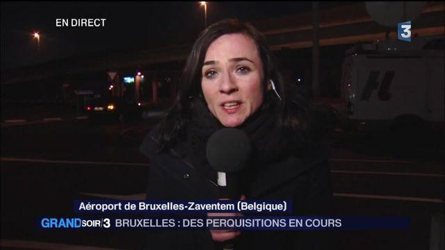 Attentats à Bruxelles : des perquisitions en cours, un suspect recherché