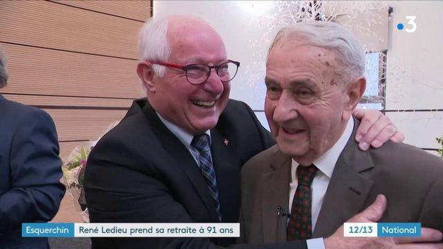 Nord : René Ledieu, doyen des maires de France, va quitter son poste à 91 ans