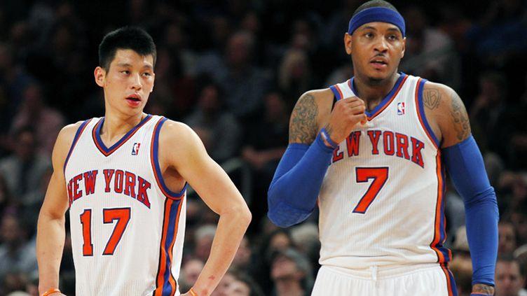 Carmelo Anthony et Jeremy Lin ont participé ensemble à la victoire des Knicks