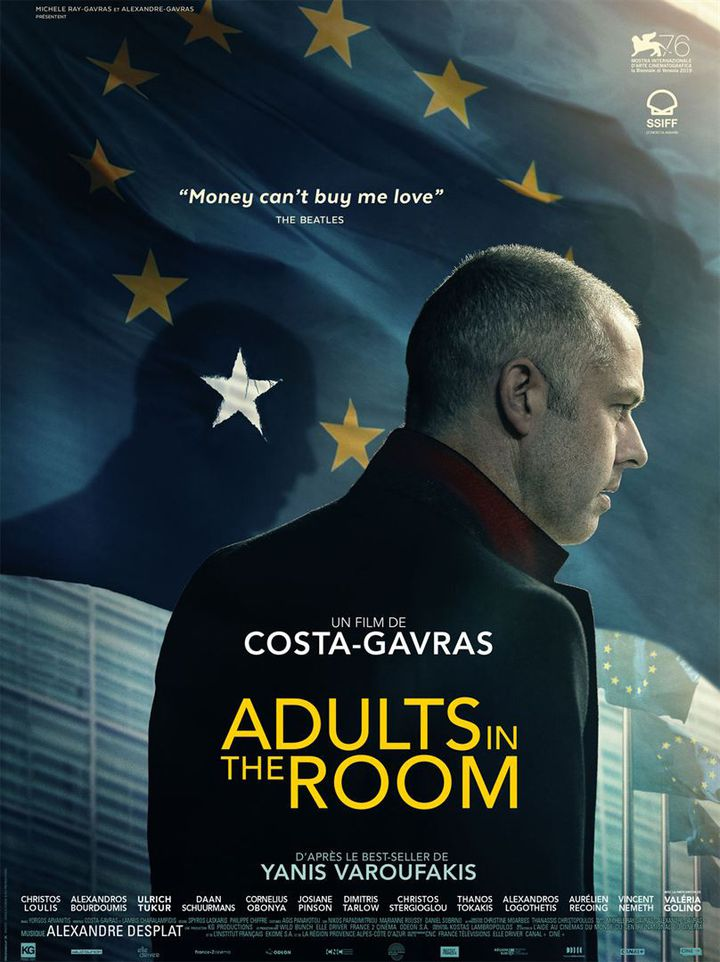 "L'affiche de ""Adults in the Room"" de Costa-Gavras. (WILD BUNCH DISTRIBUTION)"