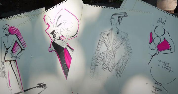 Collection Imaginaire de Daniel Roseberry pour Schiaparelli Haute Couture Automne-Hiver 2020/21 (Capture d'écran / Schiaparelli)