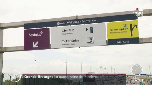 Royaume-Uni : la quatorzaine n'est pas comprise dans le Pas-de-Calais