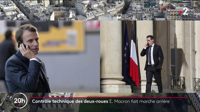 Contrôle technique des deux-roues : Emmanuel Macron suspend la mesure