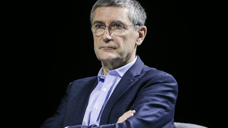 Frédéric Péchenard,ancien patron de la police nationale, vice-président LR de la régionÎle-de-France en charge des questions de sécurité, le 19 novembre 2019. (VINCENT ISORE / MAXPPP)