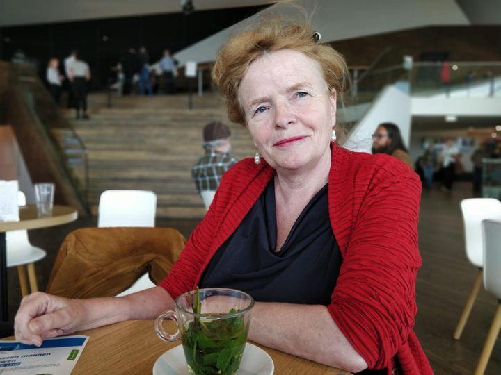 Paulien Osse, professeur à l'université d'Amsterdam et spécialiste des questions d'égalité; (ERIC AUDRA / RADIO FRANCE)
