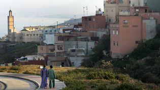Le quartier El Príncipe dans l'enclave espagnole deCeuta (Maroc), le 19 avril 2007. (ANTON MERES / REUTERS)