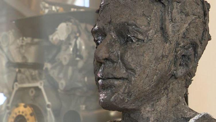 Les sculptures de Cécile Raynal au Musée des Arts et Métiers  (France 3 / culturebox / capture d'écran)