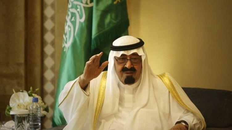 Le roi Abdullah bin Abdel Aziz, lors du visite officielle à Beyrouth, le 30 juillet 2010. (AFP - Joseph Eid)