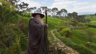 """Ian McKellen interprète le rôle du sorcier Gandalf, dans le film """"Bilbo le Hobbit : un voyage inattendu"""" (2012), sorti en France le 12 décembre 2012. (KOBAL / AFP )"""