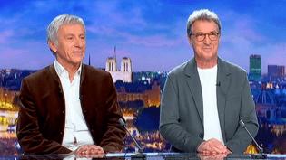 Jean-Christophe Ruffin et François Cluzet invités du 20 Heures de France 2  (France 2 / Culturebox)