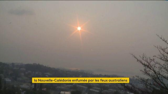 La Nouvelle-Calédonie enfumée par les feux australiens