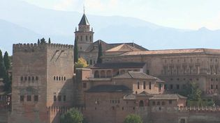 Pour tout touriste visitantl'Andalousie, un passage par l'Alhambra de Grenade (Espagne) est obligatoire. (CAPTURE ECRAN FRANCE 2)