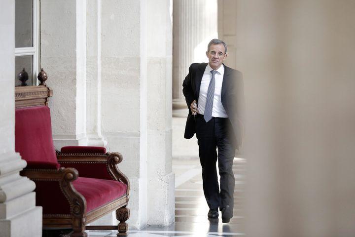 Le député des Républicains Thierry Mariani à l'Assemblée nationale, le 25 mars 2015. (MAXPPP)