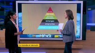 La pyramide du consommateur (FRANCEINFO)