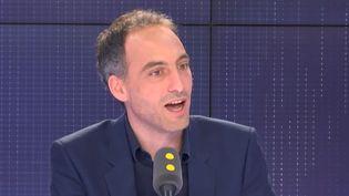 Raphaël Glucksmann, invité sur franceinfo. (FRANCEINFO)